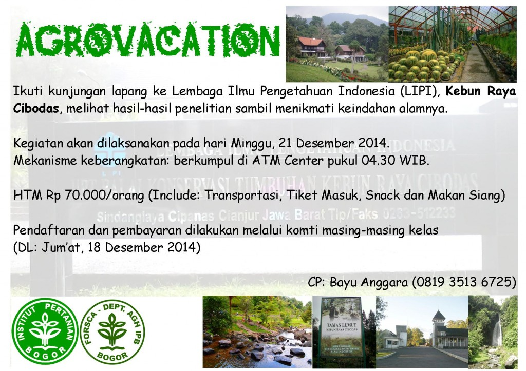 Publikasi Agrovacation